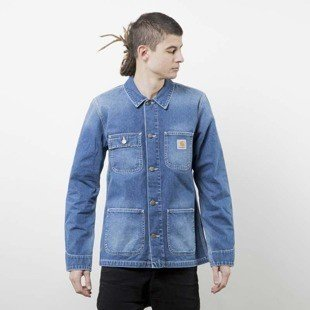 Carhartt WIP kurtka Michigan Chore Coat blue true stone