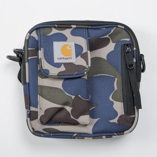 Carhartt WIP saszetka Essentials Bag Small camo isle / metro blue