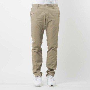 Carhartt WIP spodnie Club Pant Durango leather rinsed