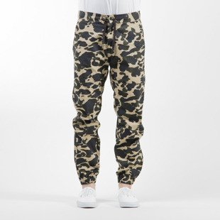 Carhartt WIP spodnie Marshall Jogger Columbia Cotton Ripstop camo duck rinsed