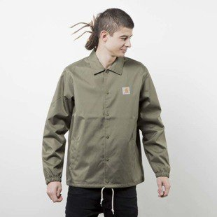Carhartt kurtka Watch Coach Jacket rover green / broken white