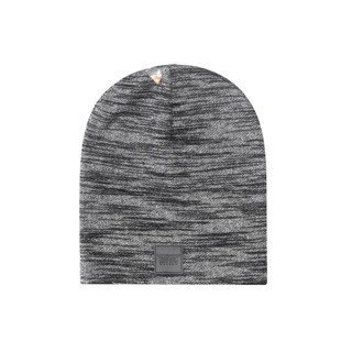 Cayler & Sons BLACK LABEL czapka zimowa Patched Slouch Beanie black-grey knit BL-CAY-AW16-BN-03