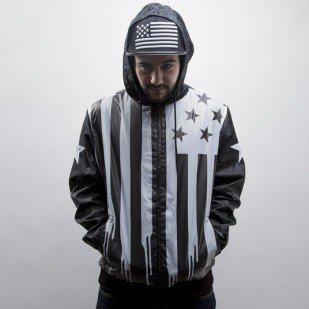 Cayler & Sons Black Label kurtka V$A Windbreaker black / white (BL-CAY-SS15-AP-01-01)