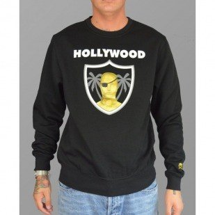 Cayler & Sons bluza Hollywood crew black