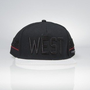 Cayler & Sons czapka West Cap black / white / red BL-CAY-AW15-06