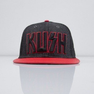Cayler & Sons czapka snapback Killa Kush acid washed black / red snake (CAY-SS15-07-01)