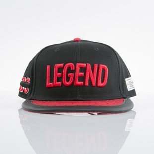 Cayler & Sons czapka snapback Legend black / red (WL-CAY-AW15-23-OS)