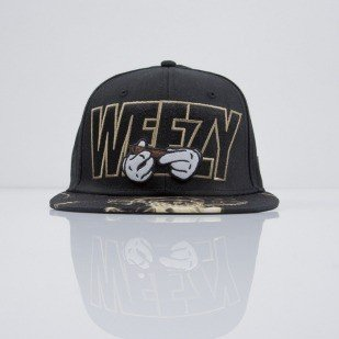 Cayler & Sons czapka snapback Up In Smoke black / gold / mc (CAY-SS15-52-01)
