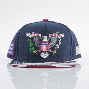 Cayler & Sons czapka snapback Weed Trust navy / usa (CAY-CC-SUM15-02-OS)