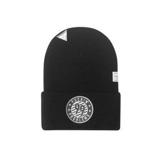 Cayler & Sons czapka zimowa 99 FCKN Problems Old School Beanie black / white WL-CAY-AW16-BN-12