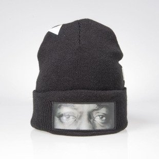 Cayler & Sons czapka zimowa Eyes On Me Old School Beanie black / white WL-CAY-AW15-BN-05