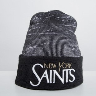 Cayler & Sons czapka zimowa Saints Old School Beanie marble / black WL-CAY-HD15-BN-02