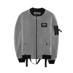 Cayler & Sons kurtka BL CSBL Flight Jacket grey-heather / black (BL-CAY-AW16-AP-03)