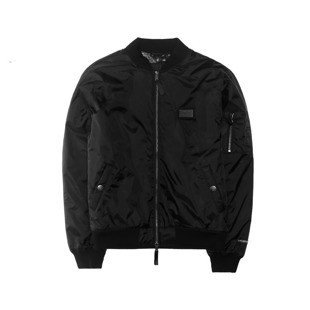 Cayler & Sons kurtka BL Paiz Flight Jacket black / white (BL-CAY-AW16-AP-04)