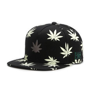 Cayler & Sons snapback czapka Best Budz Cap black / glow in the dark GL-CAY-AW16-17-01