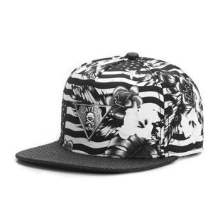Cayler & Sons snapback czapka Flagged Cap black / white GLD-CAY-AW16-09