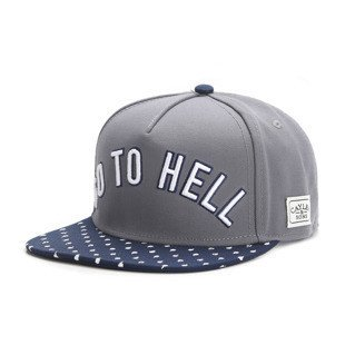 Cayler & Sons snapback czapka Go To Hell Cap grey / navy / white WL-CAY-AW16-13