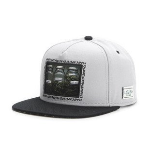 Cayler & Sons snapback czapka Own Supply Cap grey / black / mc GL-CAY-AW16-11