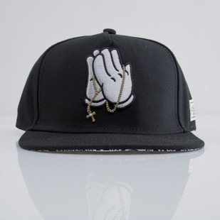 Cayler & Sons snapback czapka Pray For Classic Cap black / paisley / white CLASSIC-CAY-AW-16-02