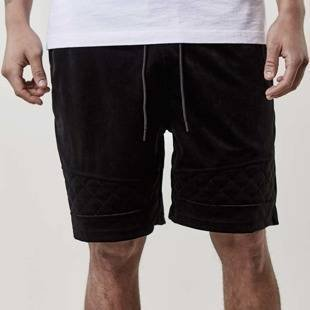 Cayler & Sons szorty New Age Velourshorts black CSBL-SS17-AP-53