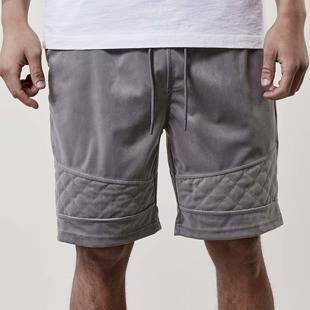 Cayler & Sons szorty New Age Velourshorts grey CSBL-SS17-AP-52