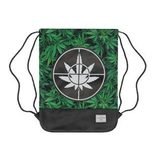 Cayler & Sons worek Defend Your Crops Gymbag green leaves / black GL-CAY-AW16-GB-01