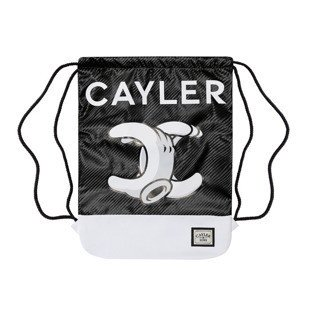 Cayler & Sons worek No.1 Gymbag white marble / black WL-CAY-AW16-GB-15