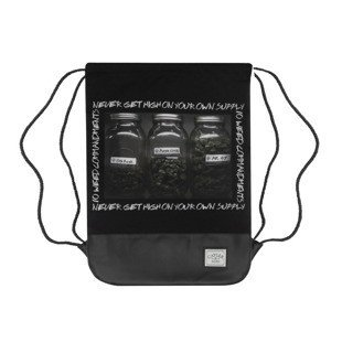 Cayler & Sons worek Own Supply Gymbag black / white / mc GL-CAY-AW16-GB-04