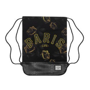 Cayler & Sons worek Paris Jaune Gymbag black / yellow WL-CAY-AW16-GB-07