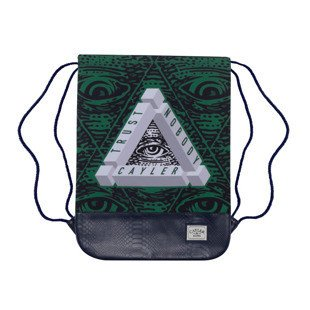 Cayler & Sons worek Triangle Of Trust Gymbag navy / green / white WL-CAY-AW16-GB-04