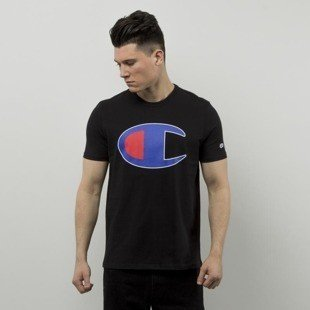 Champion t-shirt koszulka Big C black 209768S16-2175