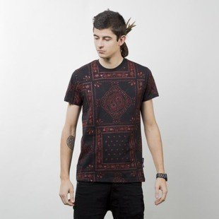 Criminal Damage koszulka Southern Tee black / red