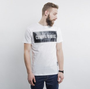 Criminal Damage koszulka t-shirt Since white