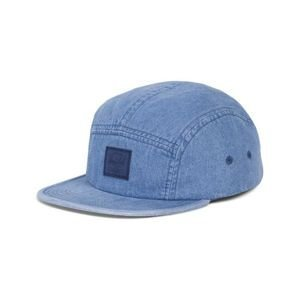 Czapka 5panel Herschel  Glendale Classic faded indigo denim 1007-0568
