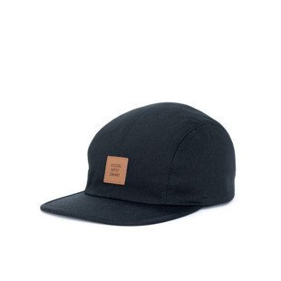 Czapka 5panel Herschel Owen black (1040-0001)