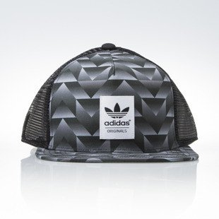 Czapka Adidas Originals Trucker Soccer black / multco (AJ7090)