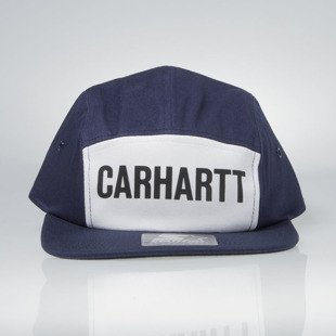 Czapka Carhartt WIP Shore Starter Cap 5panel blue / black