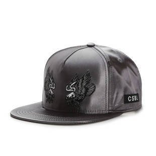 Czapka Cayler & Sons BLACK LABEL CSBL First Division Snapback Cap darh grey / black CSBL-HD16-02