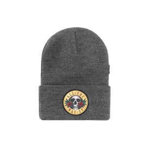 Czapka Cayler & Sons White Label Budz N' Skullz Old School Beanie grey heather