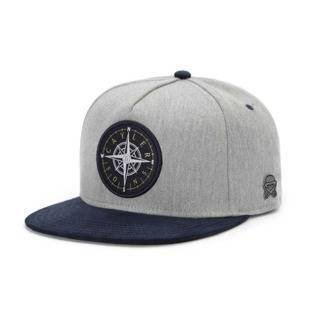 Czapka Cayler & Sons snapback CL Navigating Cap grey