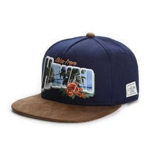 Czapka Cayler & Sons snapback WL Greetings Hawaii Cap navy