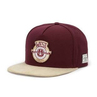 Czapka Cayler & Sons snapback WL West Univerity Cap maroon