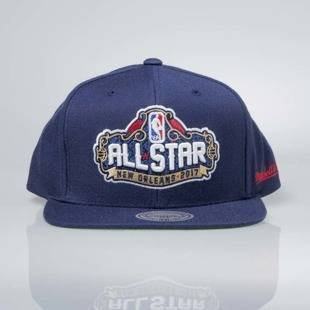 Czapka Mitchell & Ness snapback ALL STAR New Orleans 2017 navy 480VZ