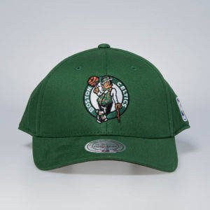 Czapka Mitchell & Ness snapback Boston Celtics green Flexfit 110 Low Pro