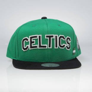Czapka Mitchell & Ness snapback Boston Celtics green / black VV24Z TRAINING ROOM