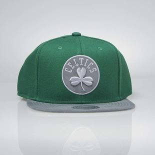 Czapka Mitchell & Ness snapback Boston Celtics green / grey INTL038 Reflective Camo