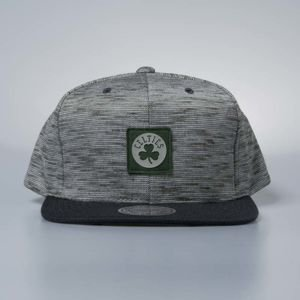Czapka Mitchell & Ness snapback Boston Celtics grey / green Brushed Melange