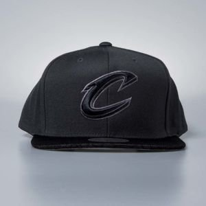 Czapka Mitchell & Ness snapback Cleveland Cavaliers charcoal Hologram Mesh Stop On A Dime