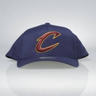 Czapka Mitchell & Ness snapback Cleveland Cavaliers navy Team Logo High Crown Flexfit 110