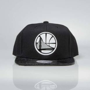 Czapka Mitchell & Ness snapback Golden State Warriors black INTL042 Ultimate
